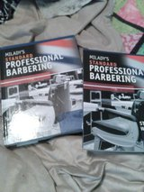 Miladys standard professional Barbering text book/ workbook in Byron, Georgia
