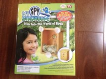 new! my spy birdhouse! window cling mount nest view - as seen on tv - in Aurora, Illinois