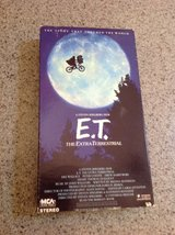 E T original VHS tape. in Alamogordo, New Mexico