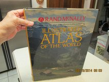 Vintage Illustrated Atlas Of The World By Rand McNally - Great Coffee Table Book in Kingwood, Texas