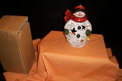 NIB Snowman with Candle (T=43) in Fort Campbell, Kentucky