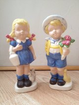 Boy and Girl figurines by Viola in Naperville, Illinois