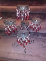 Beaded Red Candelabra in Clarksville, Tennessee