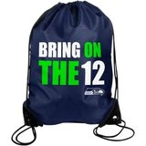 "** Seattle Seahawks ""Bring on the 12's"" Drawstring Backpack ** (NEW) in Fort Lewis, Washington"