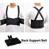 High Quality Elastic Back Support Belts (L or XL) - Black - Case of 50 in Spring, Texas