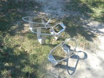 3 NICE chrome motorcycle chocks in Pasadena, Texas