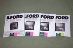 DarkRoom Photographic Paper Ilford 8 x 10 inches in Cherry Point, North Carolina
