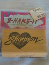"""Shannon"" name stamp brand new in wrapper in Camp Pendleton, California"