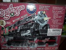 lionel - a christmas story- battery powered g-gauge train set - nib in Algonquin, Illinois