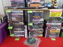 Xbox, Playstation 2 and nintendo games in Cherry Point, North Carolina