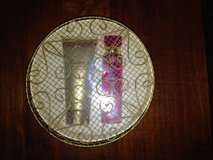 Body lotion and body spray boxed gift set in 29 Palms, California