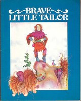 RARE Vintage 1979 The Brave Little Tailor Book & Record Set in Plainfield, Illinois
