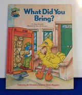 "Vintage 1980 Sesame Street Book Club ""What Did You Bring"" Hard Cover Book. in Oswego, Illinois"