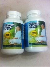 NEW two(2) eden pond vitamin c 500 supplements  250 count nib in Kingwood, Texas