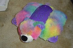 pillow pets dream lites rainbow peace dog works! in Naperville, Illinois