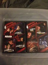 Hell raiser and nightmare on elm street dvd bundle in Yucca Valley, California
