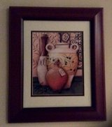 Jars Pictures cherry wood glass framed in Fort Campbell, Kentucky