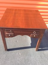 Mahogany Lamp Table With Drawers in Cherry Point, North Carolina