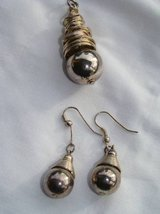 Vintage drop earrings and pendant in Camp Pendleton, California