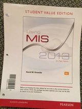 Using MIS, 6th Edition in Lockport, Illinois