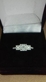 14kt white gold diamond engagement ring in Camp Pendleton, California