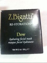 NEW z. bigatti dew hydrating facial mask 2oz anti aging sealed in Houston, Texas