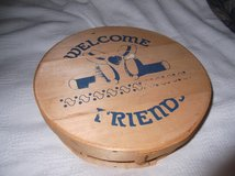 WOODEN CHEESE BOX in Cherry Point, North Carolina