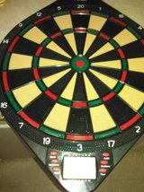 reduced Sportcraft electronic dartboard with new darts in Fort Lewis, Washington