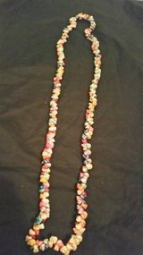 Vintage 1940's-50's Exotic Trochus shell Hawaiian Lei necklace in Camp Pendleton, California