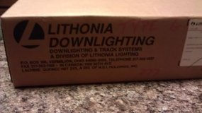 "Lithonia 8"" Can Lighting...Includes Can & Tracking...NEW IN BOX in Oswego, Illinois"