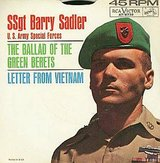 1966 RCA Vistor 45 RPM SSgt Barry Sadler in Camp Pendleton, California