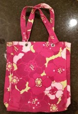 H&M tote bag - magenta and pink floral pattern in Naperville, Illinois