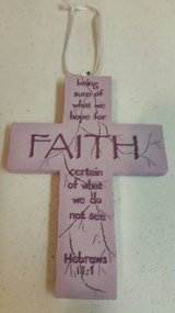 """5"""" new cross with magnet back in Camp Pendleton, California"""
