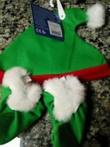 build a bear clothes -  green christmas elf hat & shoe set santa's helper new in St. Charles, Illinois
