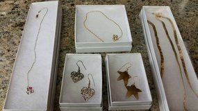 Stars and heart shaped earrings in Camp Pendleton, California