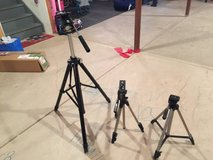 3 Tripods...SLIK U 5000, Quickset, Contact for more info in Oswego, Illinois