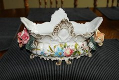 Capodimonte Bowl~Roses~Collectable Centerpiece in Elgin, Illinois