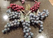Artificial Floral Berries - Blue and Red Bunches in Orland Park, Illinois