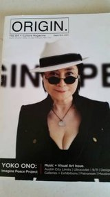 Yoko Ono interview in 2011 Origin magazine in Camp Pendleton, California
