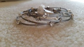 Bracelets - Silver and Crystal (Set of 5) - New in Glendale Heights, Illinois