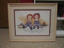 Framed Print - Raggedy Ann and Andy in Glendale Heights, Illinois