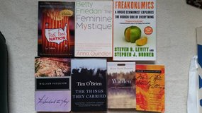 Books - Various titles - Great for High School or Adult reading in Naperville, Illinois