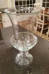 Hurricane Candle Holder - Large - Clear Glass in Glendale Heights, Illinois