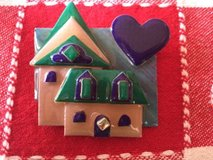 House Pins By Lucinda Brooch /pin Realtor Pin in Naperville, Illinois