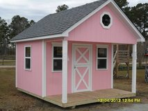 Pink Playhouse in Camp Lejeune, North Carolina