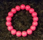 Red Bead Bracelet - Stretch in Bolingbrook, Illinois