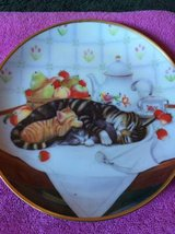 Cat Nap collector plate in Warner Robins, Georgia