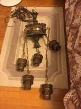 Brass Antique Swag lamp - REDUCED in Spring, Texas