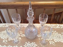 ELEGANT GLASS DECANTER SET in Oswego, Illinois