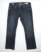 !iT Los Angeles It GEM Denim Jeans Womens sz 30 Measures 31 x 29 Low Staright in Yorkville, Illinois